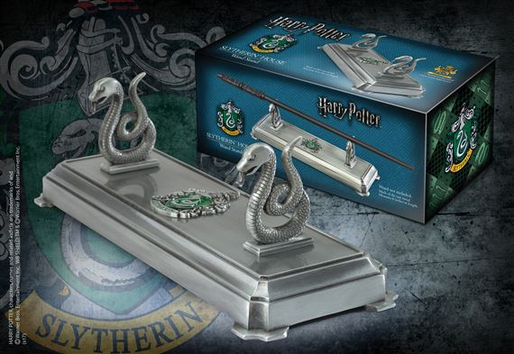 slytherin wand stand at