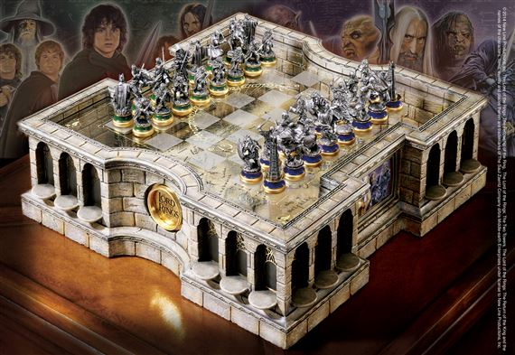 Koleksi Lord of the Ring - Chess Set