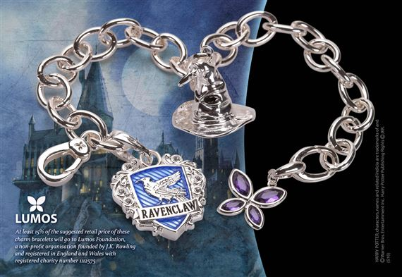 Lumos Ravenclaw Charm Bracelet At Noblecollection Com