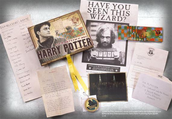 Harry Potter Artefact Box At Noblecollection Com