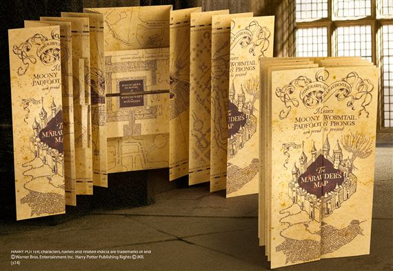 Marauders Map at noblecollection.com Ronweasley