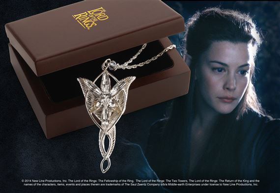 a7172ce8474 The Evenstar™ Pendant of Arwen™ at noblecollection.com