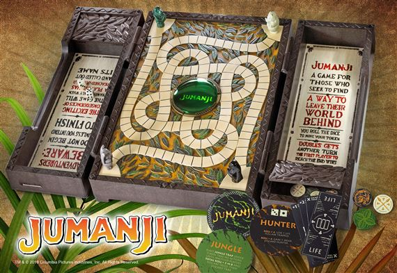 Jumanji Board Game Collector Replica At Noblecollection Com