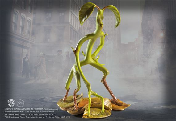 Magical Creatures No 2 Bowtruckle At Noblecollection Com Bowtruckle is a character from fantastic beasts and where to find them. magical creatures no 2 bowtruckle at