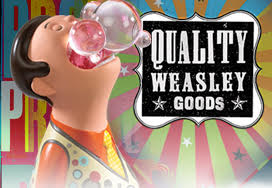 Weasleys Wizard Wheezes Bookend - Bubble Boy