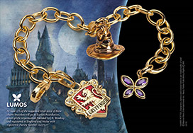Lumos Gryffindor Charm Bracelet