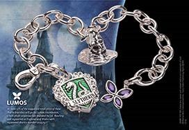Lumos Slytherin Charm Bracelet