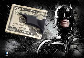Batarang Money Clip, Black
