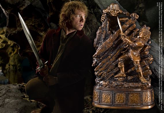 Bilbo gollum bookend at - Lord of the rings bookends ...