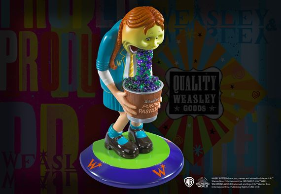 Weasleys' Wizard Wheezes Bookend - Puking Pastilles
