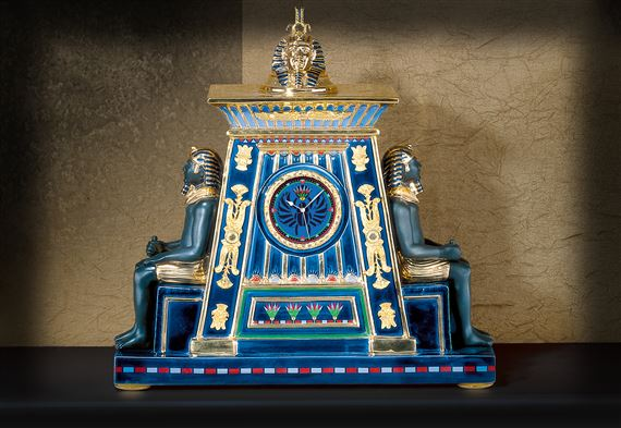 Pharaoh's Offering Clock