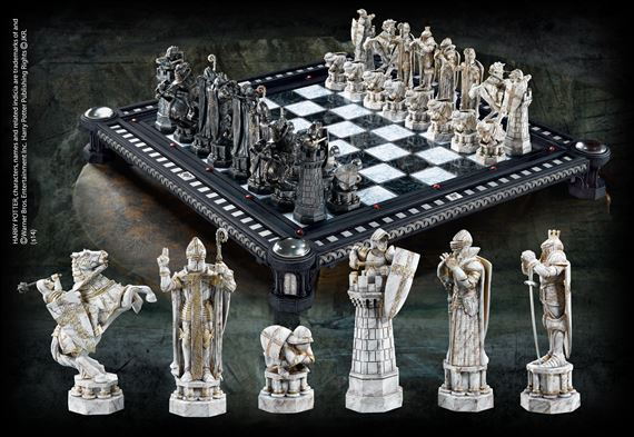 The Final Challenge Chess Set