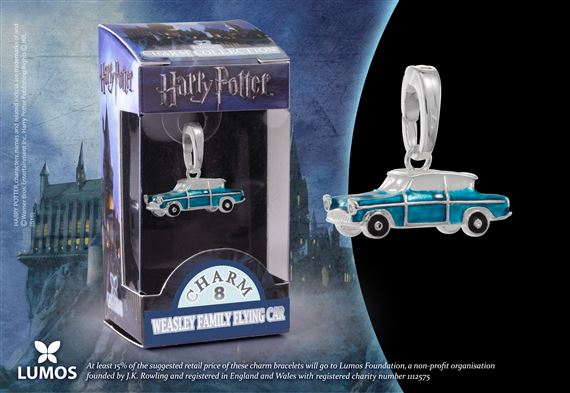 Lumos HP Charm # 8 - Weasley Family Flying Car