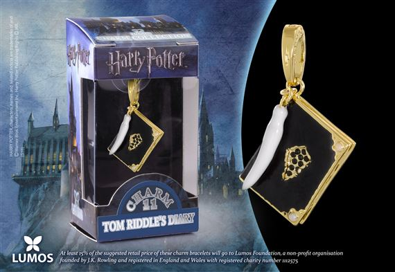 Lumos HP Charm # 11 - Tom Riddle's Diary