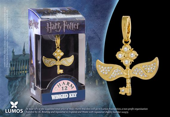 Lumos HP Charm # 12 - Winged Key