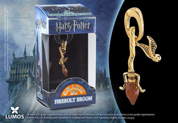 Lumos HP Charm # 14 - Firebolt Broom