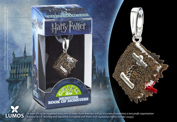 Lumos HP Charm # 16 - Monster Book of Monsters