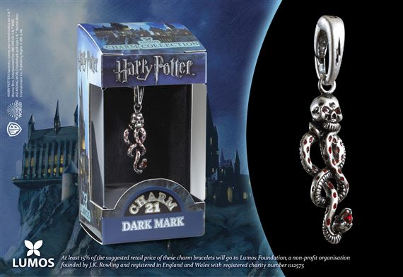 Lumos HP Charm # 21 - Dark Mark