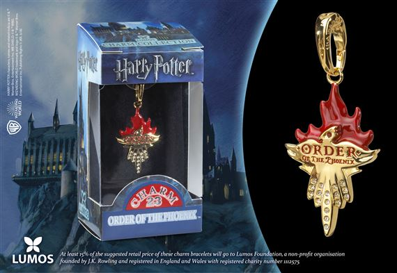 Lumos HP Charm # 23 - Order of the Phoenix