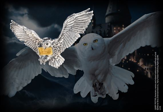 Flying Hedwig Brooch