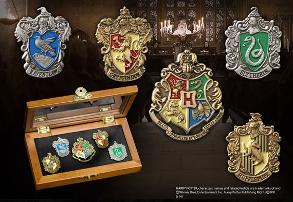 House Crest Pins