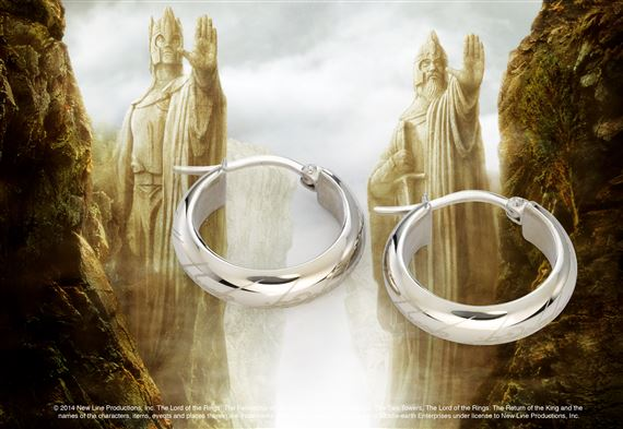 The One Ring Earrings, Stainless Steel