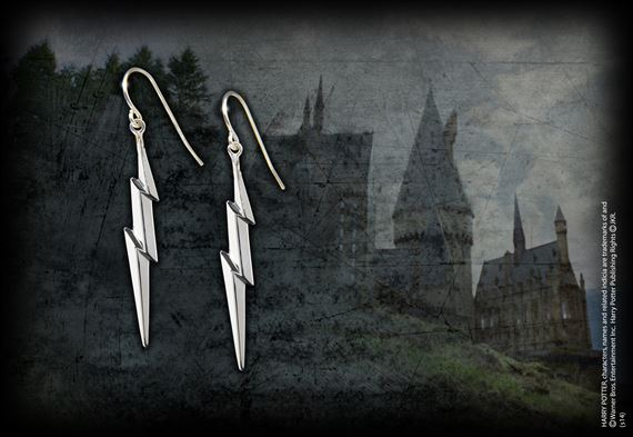 The Lightning Bolt Earrings - Silver