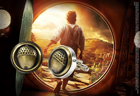 Bilbo Baggins Button Cufflinks