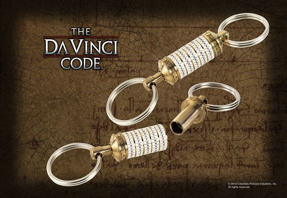 DaVinci Code Cryptex Key Chain