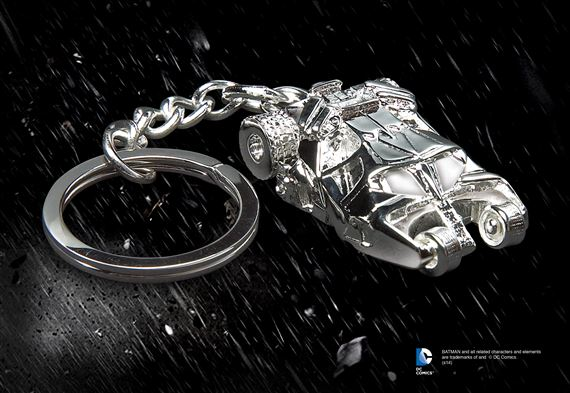 Batmobile Keychain