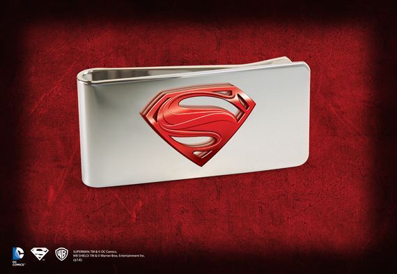 Man of Steel Money Clip