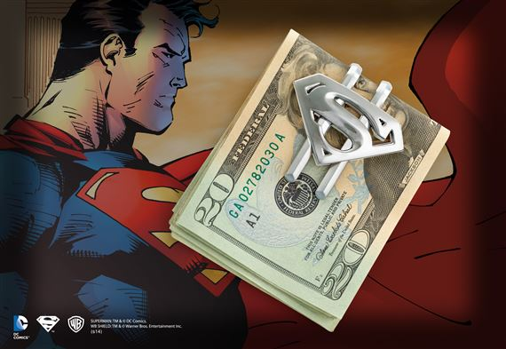 Superman Returns Shield Money Clip (Gun Metal)