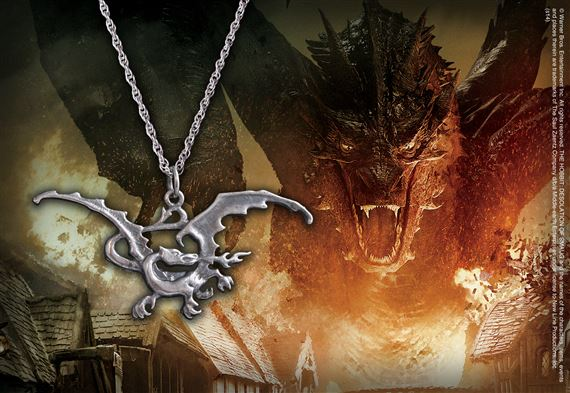 Smaug Pendant, Sterling Silver