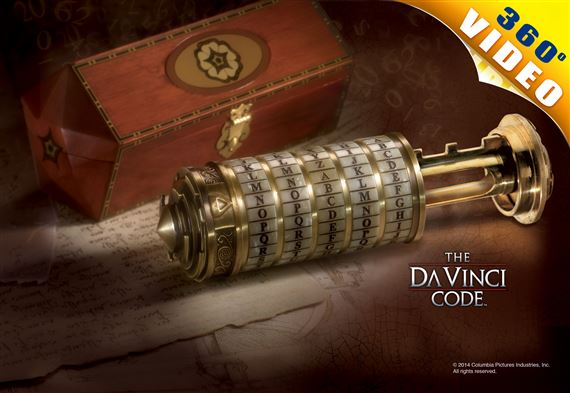 The DaVinci Code Cryptex