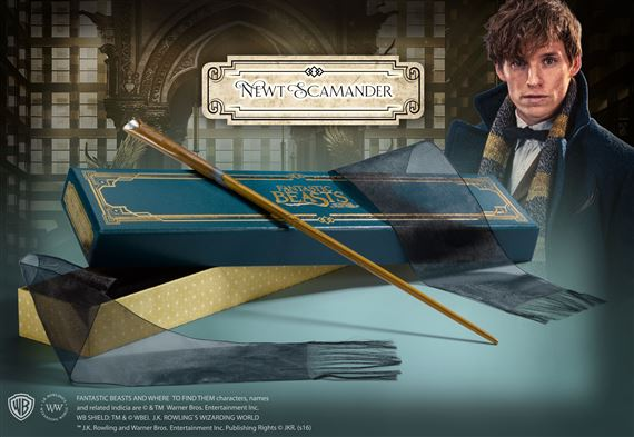 Wand of Newt Scamander in Collector's Box