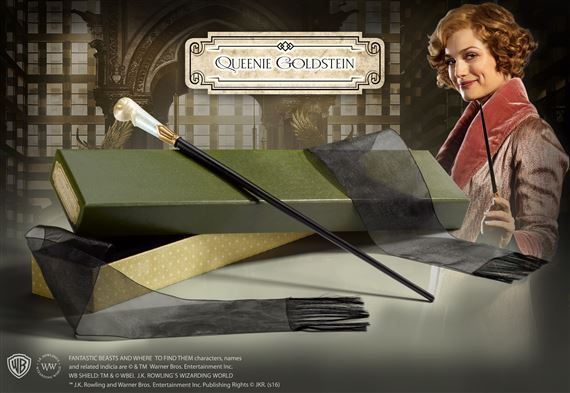 Scatola Finestra The Noble Collection Queenie Goldsteins Bacchetta