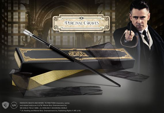Wand of Percival Graves in Collector's Box