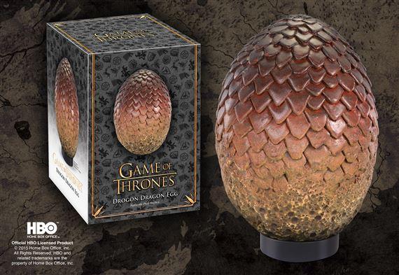Noble Collection Game of Thrones Uovo Di Drago Prop Replica Drogon Statue 20 cm