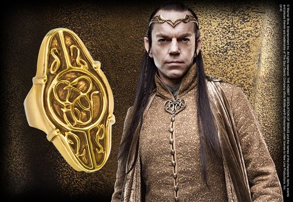 Elrond Gold Council ring