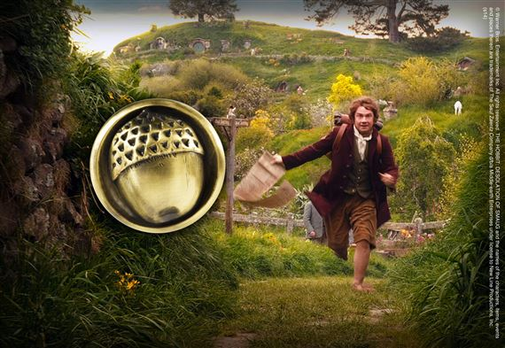 Bilbo's Button Pin