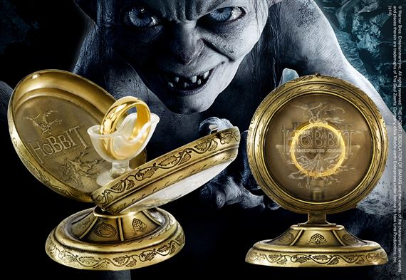 HOBBIT ONE RING WITH DISPLAY