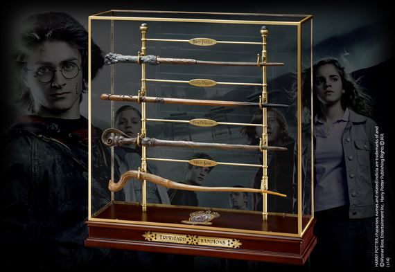 Triwizard Champions Wand Set At Noblecollection Com