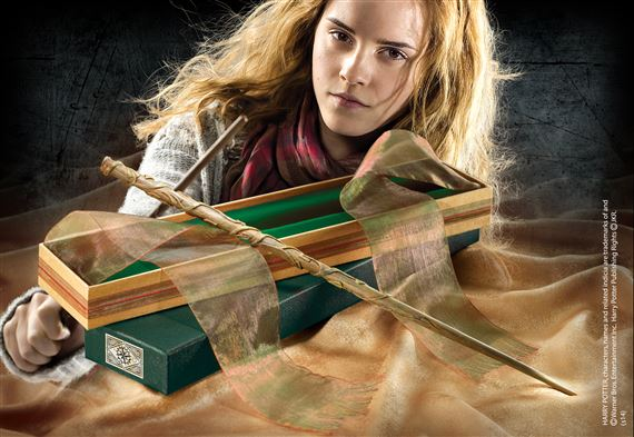hermione wand at noblecollectioncom