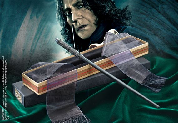 Professor Snape Wand with Ollivanders Wand Box