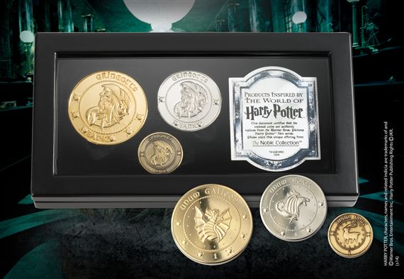 The Gringotts Coin Collection