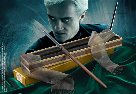 Draco Malfoy Wand with Ollivanders Wand Box
