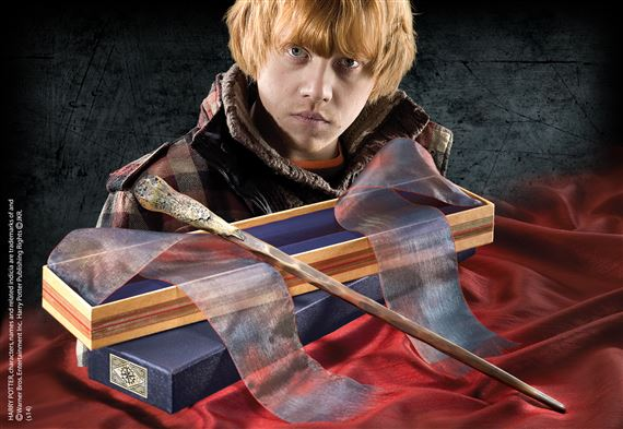 Ron Weasley Wand with Ollivanders Wand Box