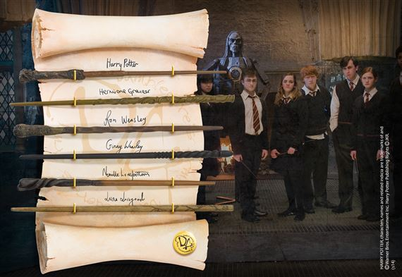 Image result for dumbledore's army wand display