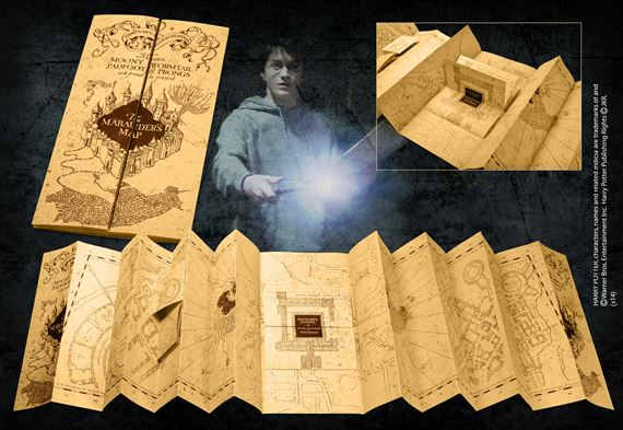 Marauders Map at noblecollection.com on