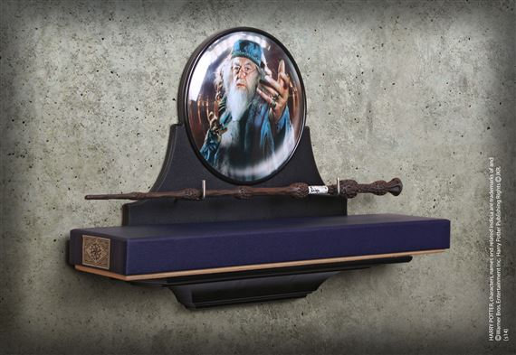 Dumbledore Wand Wall Display